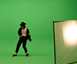 Navi performs 'Thriller' for the MJ video game